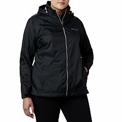 01d6039e392 Plus Size Columbia Switchback III Hooded Packable Jacket