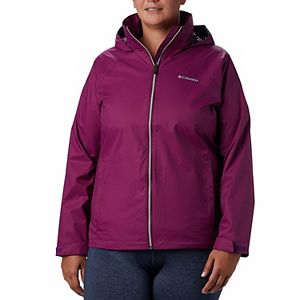 Plus Size Columbia Switchback III Hooded Packable Jacket