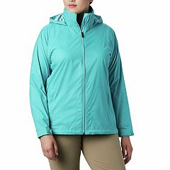 Plus Size Columbia Switchback III Hooded Packable Jacket