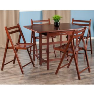 Winsome Taylor Drop-Leaf Table and Chairs 5-piece Set
