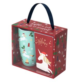 Belle Maison Holiday Unicorn Latte Mug