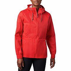 Women's Columbia Proxy Falls Hooded Anorak Rain Jacket