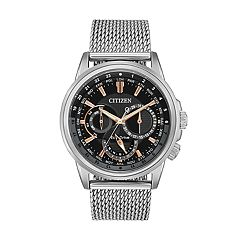 Citizen Eco-Drive Men's Calendrier World Time Watch - BU2020-70E