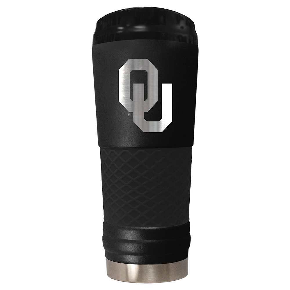 Oklahoma Sooners 24-Ounce Stealth Travel Tumbler