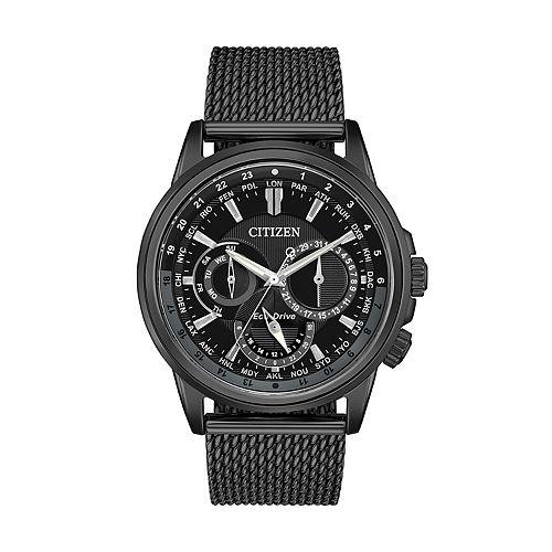 Citizen Eco-Drive Men's Calendrier World Time Watch - BU2025-76E