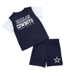 Toddler Dallas Cowboys Tee & Shorts Set