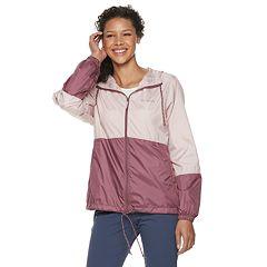 Women's Columbia Flash Forward Hooded Colorblock Windbreaker