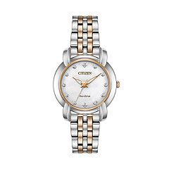 Citizen Women's Jolie Diamond Accent Stainless Steel Watch - EM0716-58A