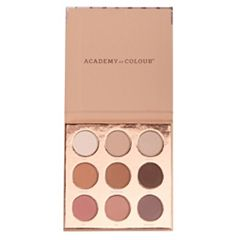 Academy of Colour Nudes 9-Shades Eyeshadow Palette