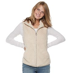 Juniors' SO® Sherpa Vest