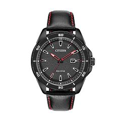 Drive from Citizen Eco-Drive Men's AR Leather Watch - AW1585-04E