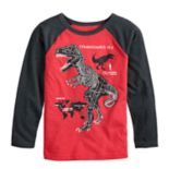 Boys 4-8 Jumping Beans® Tyrannosaurus Rex Raglan Graphic Tee