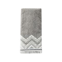 Saturday Knight, Ltd. Geo Dobby Hand Towel