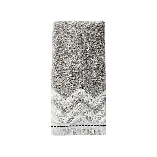Saturday Knight, Ltd. Geo Dobby Hand Towel