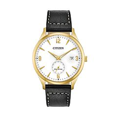 Drive from Citizen Eco-Drive Men's BTW Leather Watch - BV1112-05A