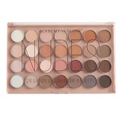 Academy of Colour Nudes 28-Shades Eyeshadow Palette