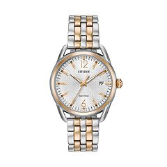 Drive from Citizen Eco-Drive Women's LTR Two Tone Stainless Steel Watch - FE6086-74A