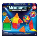 Cra-Z-Art Magrific 3D Magnetic Tiles 28-Piece Set