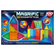 Cra-Z-Art Magrific 3D Magnetic Tiles 100-Piece Set