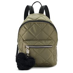 Candie's® Quilted Metallic Mini Backpack