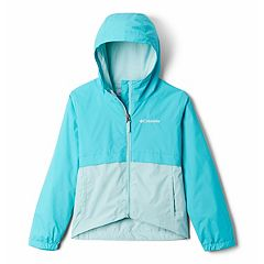 Girls 4-18 Columbia Rain Zilla Lightweight Rain Jacket