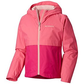 Girls 4-18 Columbia Rain-Zilla Lightweight Rain Jacket