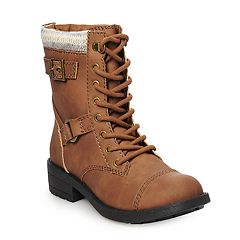 Unleashed by Rocket Dog Tarenar Women's Combat Boots