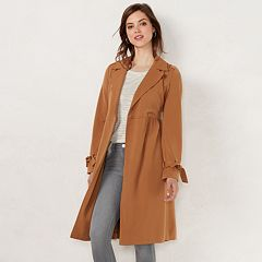 Women's LC Lauren Conrad Pretty Trench Coat
