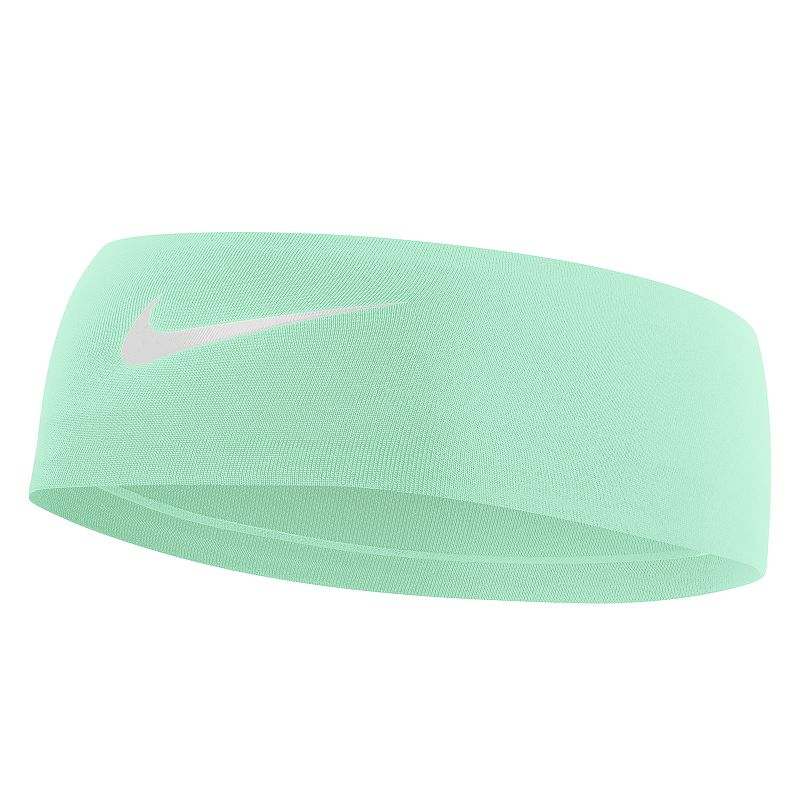 Nike Fury 2.0 Headband, Women's, Brt Green Keep your hair under control and the sweat off your brow with this classically styled Nike Fury headband. In teal. Dri-FIT moisture-wicking technology No-slip silicone grips Embossed swoosh logo 2.5-in. width Fabric & Care Polyester, silicone, spandex Machine wash Imported Size: Onesize. Color: Brt Green. Gender: Female. Age Group: Adult. Material: Poly Blend.
