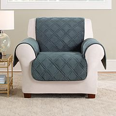 Sure Fit Triple Protection Chair Slipcover