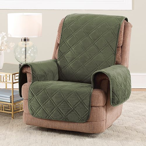 Sure Fit Triple Protection Recliner Slipcover