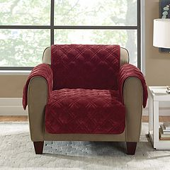 Sure Fit Plush Comfort Chair Slipcover