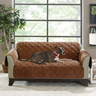 Sure Fit Plush Comfort Loveseat Slipcover