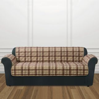 Sure Fit Highland Plaid Sofa Slipcover