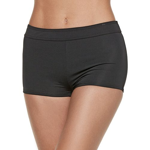 Women's Apt. 9® Boyshort Swim Bottoms