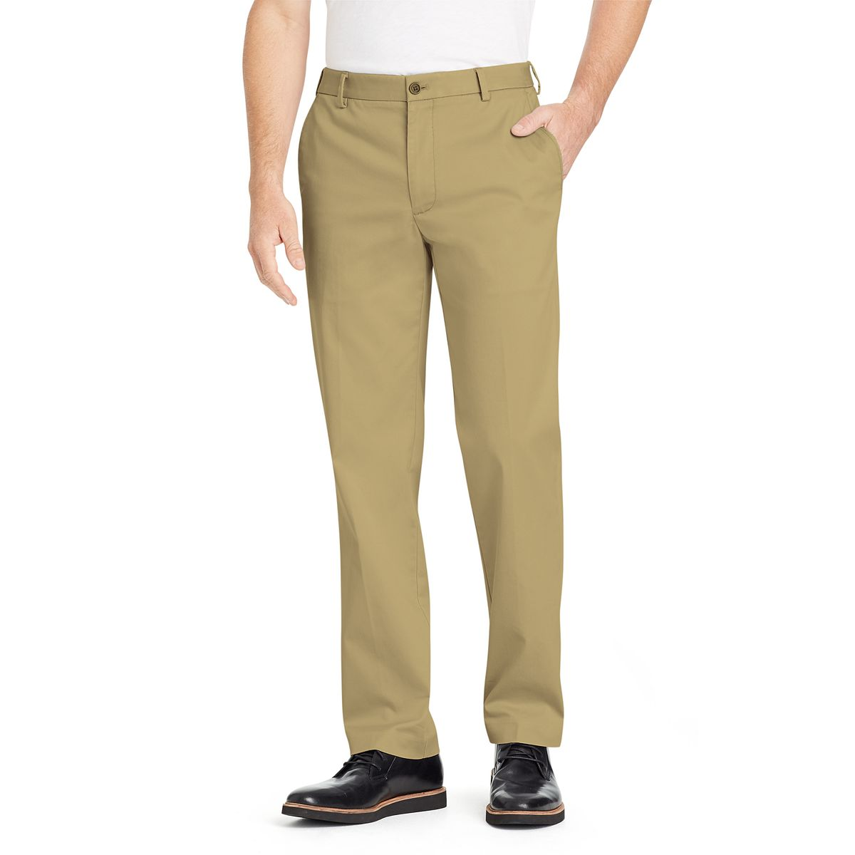 Van Heusen Mens Air Chino Straight-Fit Dress Pants