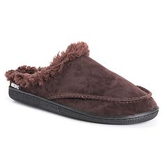 c3a3c5b76f35 Men s MUK LUKS Faux Fur Lined Clog Slippers
