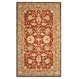 Safavieh Anatolia Lucie Framed Floral Wool Rug
