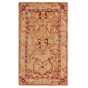 Safavieh Anatolia Lizette Framed Floral Wool Rug