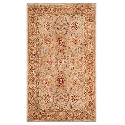 Safavieh Anatolia Marion Framed Floral Wool Rug