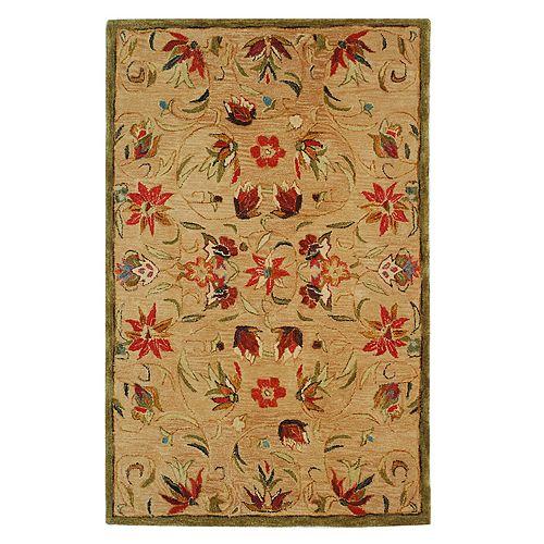 Safavieh Anatolia Fiona Framed Floral Wool Rug
