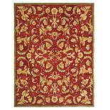 Safavieh Anatolia Dale Framed Floral Wool Rug
