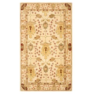 Safavieh Anatolia Kaitlyn Framed Floral Wool Rug