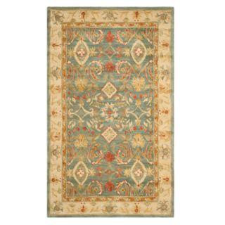 Safavieh Anatolia Samantha Framed Floral Wool Rug