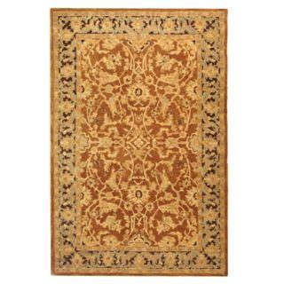 Safavieh Anatolia Lucinda Framed Floral Wool Rug
