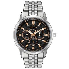 Citizen Eco-Drive Men's Corso Stainless Steel Watch - BU2070-55E