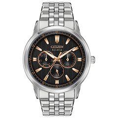 Citizen Eco-Drive Men's Corso Stainless Steel Watch - BU2070-55E