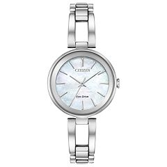 Citizen Eco-Drive Women's Axiom Stainless Steel Watch - EM0630-51D