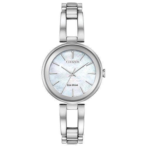 Citizen Eco-Drive Women's Axiom Stainless Steel Watch - EM0630-51D