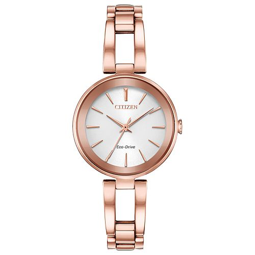 Citizen Eco-Drive Women's Axiom Stainless Steel Watch - EM0633-53A